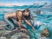 ´Mermaids, Beaches & Waves´ By Colleen Gnos, June 16-July 28